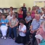Lois Cooper's retirement party