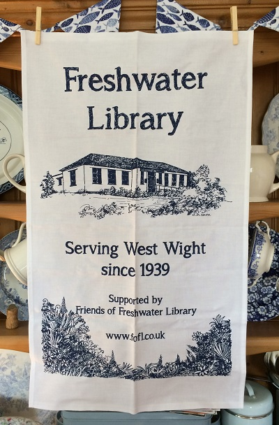 Freshwater Library T-Towel